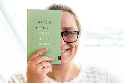Olaug nilssen and her novel tung tids tale